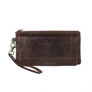 Wallet large The Monte – Brown