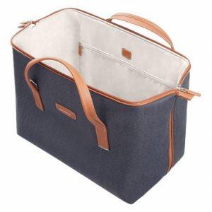 Samsonite Lite DLX duffelväska i textil, 46 cm Midnight Blue