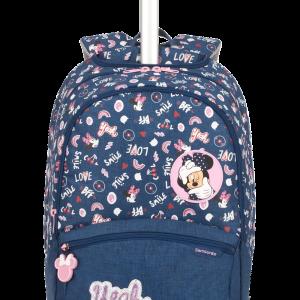 COLOR FUNTIME DISNEY Backpack Skolväska med hjul Disney & Barnväskor /  för Barn
